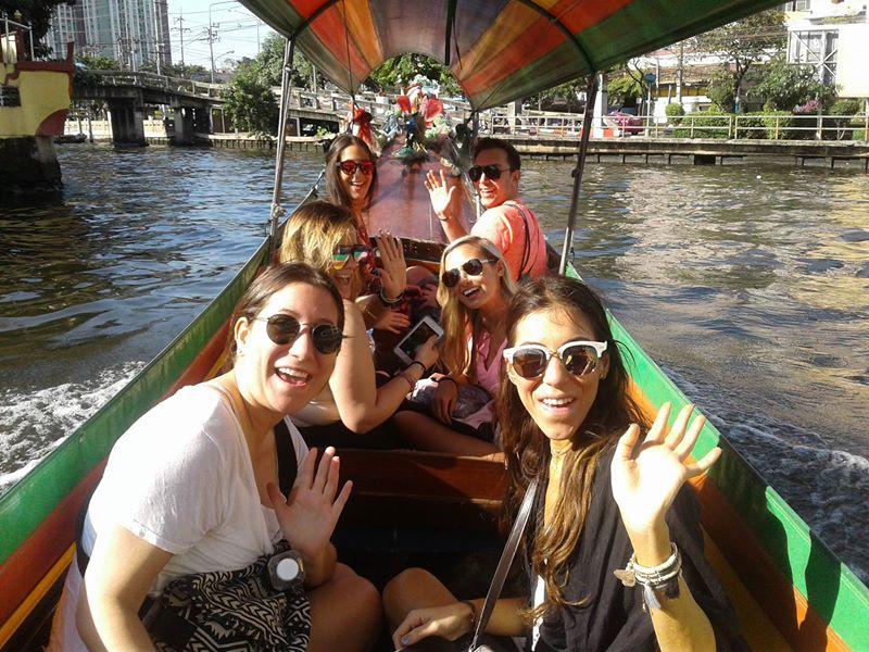 Canal of Bangkok Tour