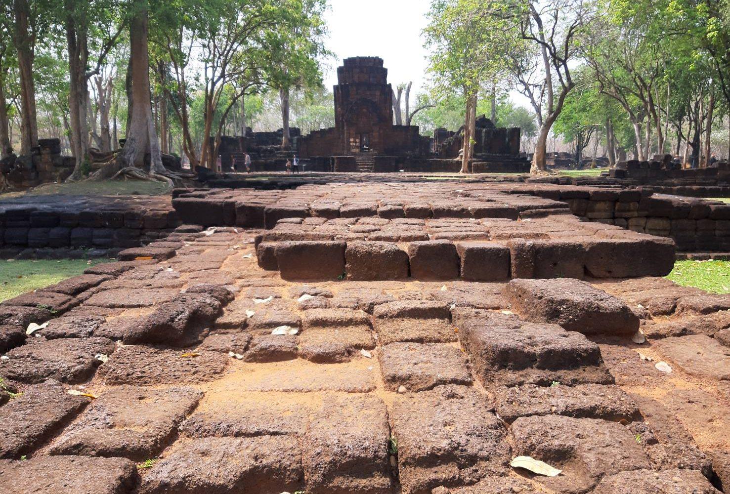 MuangSing Historical Park Kanchanaburi