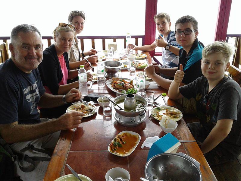 Lunch at Ayutthaya